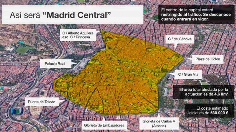 Se va a iniciar el nuevo APR CENTRO/MADRID CENTRAL